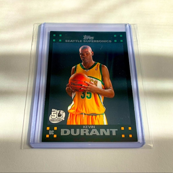 Kevin Durant '07 Topps Rookie Card